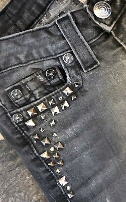 True Religion Jeans, Women's Size 25. Distressed, Studded, Bling Butt
