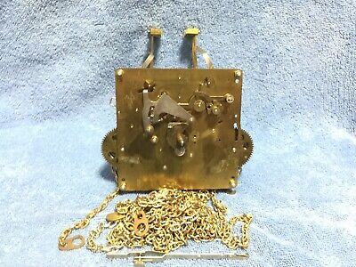 Franz Hermle Clock Movement 451-050 94cm with chains