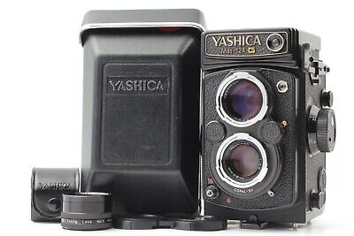 【Near MINT】Yashica Mat 124G 6x6 TLR Medium Format + 80mm f/3.5 from Japan #A0377