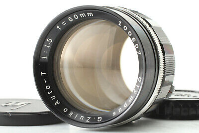 [ VERY RARE Near Mint ] Olympus G Zuiko Auto T 60mm f/1.5 for PEN From Japan