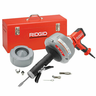"""Ridgid 35473 K-45 Drain Cleaner C-1IC Cable w/Bulb Auger (5/16"""" x 25') AUTOFEED"""