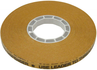 JVCC ATG-7502X ATG Tape: 1/4 in. x 36 yds. Clear Adhesive on Gold Liner / core