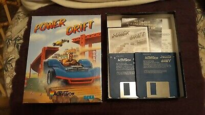 Commodore Amiga Game Power Drift by Activision