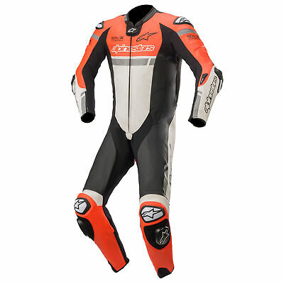 Alpinestars Missile Ignition Leather Motorcycle Bike Suit - Tech Air Compatible