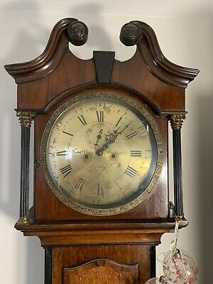 Sam L Hill Sheffield Antique Longcase Grandfather Clock pre 1800