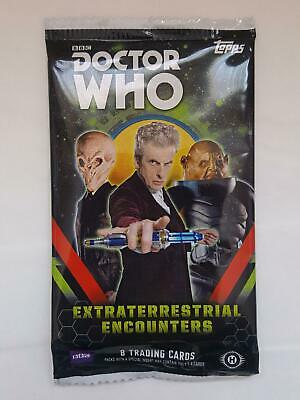 Dr Who - Extraterrestrial Encounters - Trading Cards EMPTY Packet/Wrapper #W115