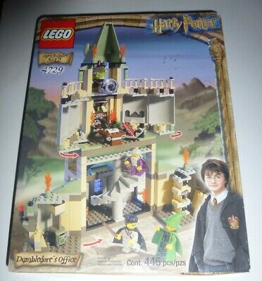 Lego Harry Potter Dumbledore's Office 4729 complete set brand new in box 446 pcs