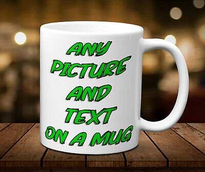 Any Text, Photo, Design On A Mug, Cup, Boyfriend, Personalised, Husband, Funny,