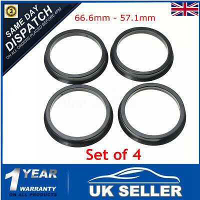 60.1MM BRAND NEW ALLOY HUB CENTRIC 4 X SPIGOT RINGS 52MM