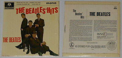 "Beatles - The Beatles Hits EP - 1970s Reedición U.k 7"" Vinilo"