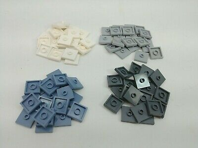 Lego Lot of 20-2 x 2 Plate Modified with Center Jumper 3023 Choose Your Color