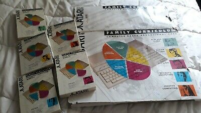 Atari 1040 STe Education Pack Software and BoxSleeve only