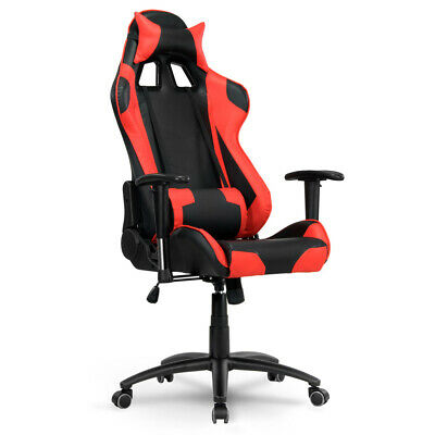 Racing Gaming Chair Swivel Recliner Eco Leather Computer Desk Home Office Chair⭐