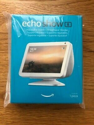 Echo Show 8 Adjustable Stand, White