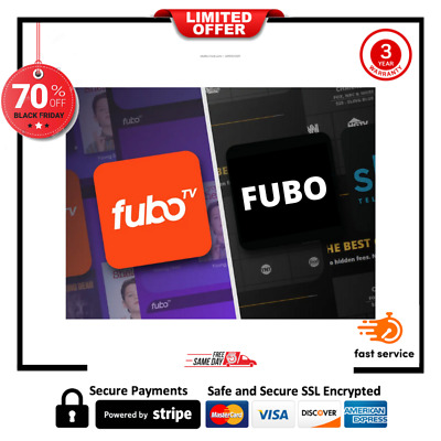 FUBO PREMIUM PACKAGE   2 YEARS WARRANTY ✔️ Fast DELIVERY