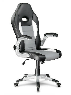 Racing Chair Sport Swivel Eco Leather Mesh Gaming Desk Executive Office Chairs⭐⭐