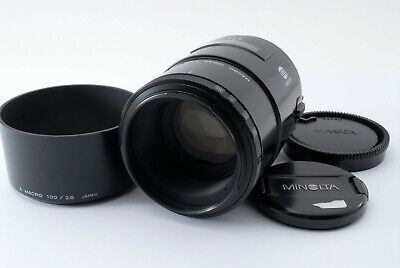 Minolta AF 100mm F/2.8 Macro Lens For Sony A Mount [Excellent++] from Japan
