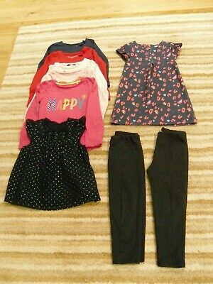 Girls' bundle of gorgeous clothes age 4-5 years - 9 items - hardly worn VGC