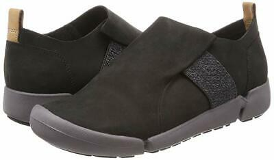 Clarks Tri Lily Black Women's Leather Sport Shoes Size UK 4 D