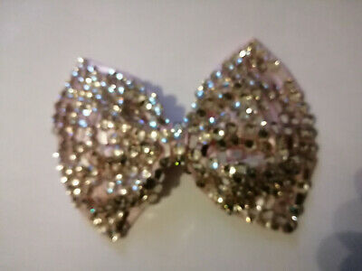 Girl Hairpins Hair Bow Barrettes Hair Glittery Sequin Big Bows Clip