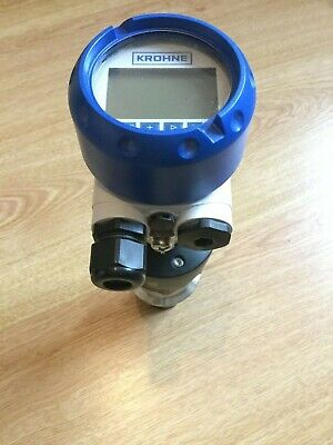 Krohne OPTISOUND 3010 C Ultrasonic Level Sensor c/w programmer/display