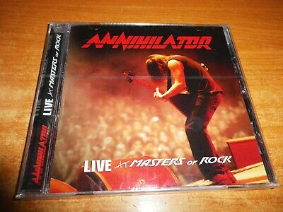 ANNIHILATOR Live at masters of rock CD ALBUM PRECINTADO DEL AÑO 2009 ALEMANIA