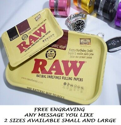 rolling crusher herb grinder raw rolling tray dad boyfriend gift son engraved