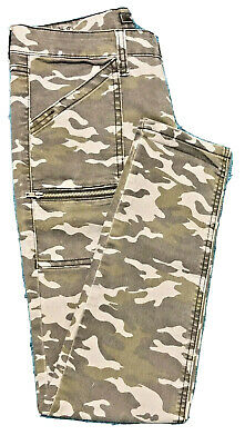STS BLUE Jeans / Pants Camo Size 7 New without tags