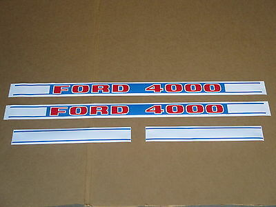 Hood Decal Set For Ford Decals 4000