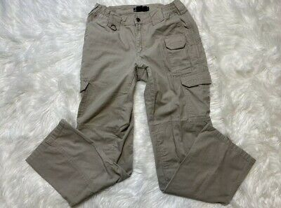 Women's 5.11 TACTICAL Series Khaki pants sz 4 cargo pockets
