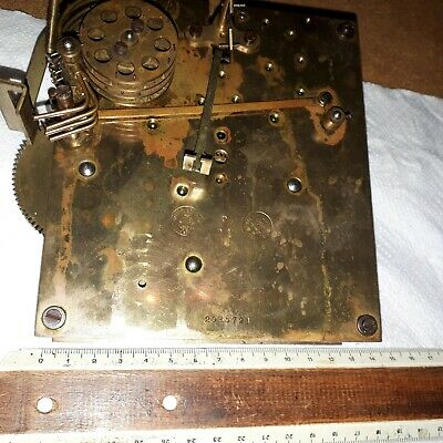 Gustav Becker Clock movement P21 for spares or repair