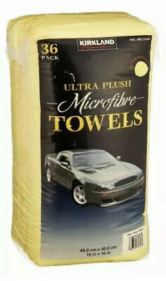 Kirkland Microfibre Ultra Plush Eurow 40cm Microfiber Car Cloth 1 X 36 Towels
