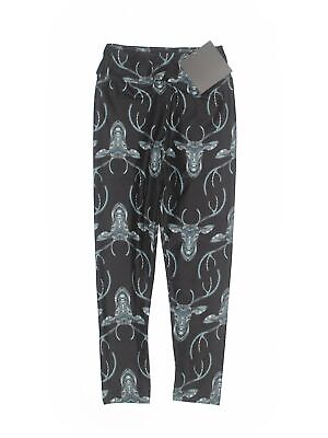 NWT Charlie's Project Girls Black Leggings Small kids