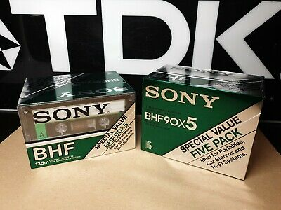 SONY BHF90 (×10) : Made in Japan : NEW & SEALED