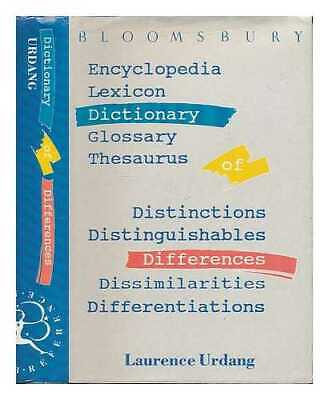Dictionary of differences / Laurence Urdang