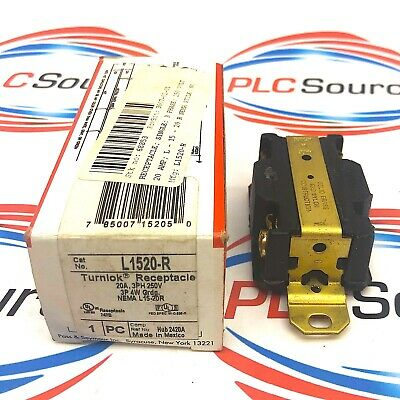 Pass & Seymour L1520-R 20A 250V Turnlok Receptacle  2-Pack