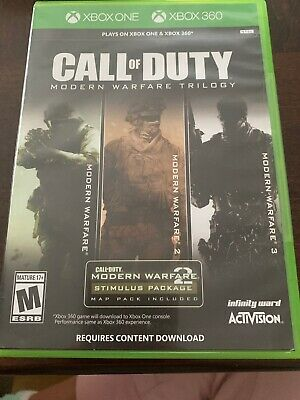 Call of Duty Modern Warfare Trilogy - Xbox One & Xbox 360 - new and sealed