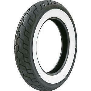 Dunlop D401 Med White Wall 150/80 B16 71H TL Rear Motorcycle Tyre