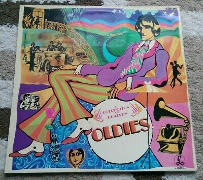 THE BEATLES : A Collection Of Beatles Oldies : UK parlophone vinyl LP 1971