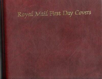 Royal Mail First Day Cover Album Will Hold 68 Fdcs/Packs