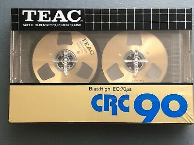 TEAC CRC 90 Cassette Tape Brand New Japan