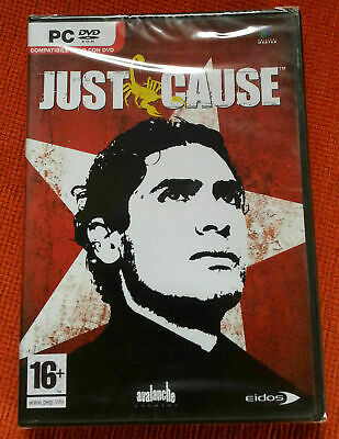 Just Cause pc dvd rom gioco game nuovo sigillato ita