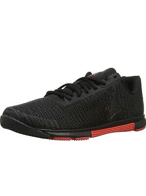 Reebok Men's Speed Tr Flexweave Cross Trainer color Black/Carotene size 9