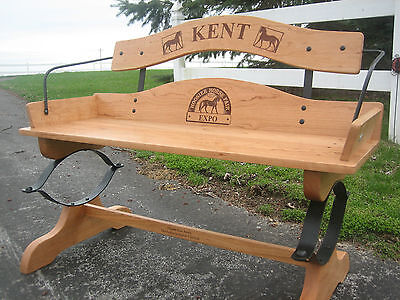 Buckboard Bench Woodworking Kits Qty 4- Hardware w/full size plans-Real Springs