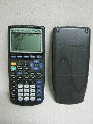 Texas Instruments TI-83 Plus Graphing Calculator #8658