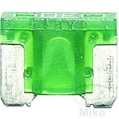 Mini Low Profile Fuse 30A Green x2pcs 4001796509223