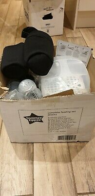 Tommee Tippee 423586 Closer to Nature Complete Feeding Set - Black