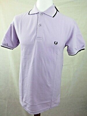 FRED PERRY MEN/'S TWIN TIPPED POLO SHIRT IN BLACK MINT //// BNWT ////