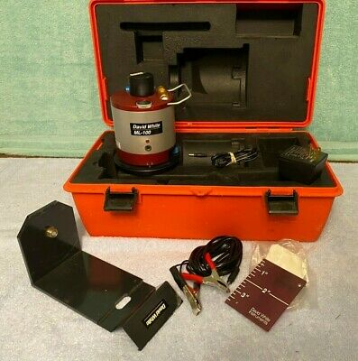 VERY CLEAN David White ML-100 Rotary Laser Level System