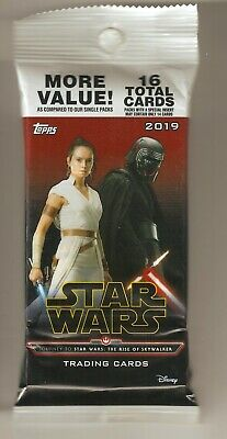 2019 TOPPS STAR WARS JOURNEY TO RISE OF SKYWALKER Autograph Auto #/25 HOT PACK